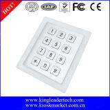 Clavier numérique affleurant en métal des clés 3X4 de l'acier inoxydable 12 raboteux