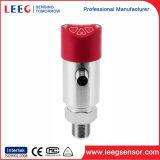 Détecteur industriel de pression indiquée de sortie analogique