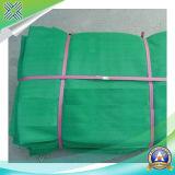 Grüne Zaun-Filetarbeit