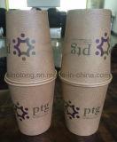 L'abitudine poco costosa riciclabile del commercio all'ingrosso del rifornimento del fornitore ha marcato a caldo il commercio stampato colore 7oz caffè a gettare tazza di carta