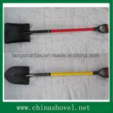 Griff-Schaufel-Garten-Handwerkzeug-Fiberglas-Griff-Schaufel-Spaten