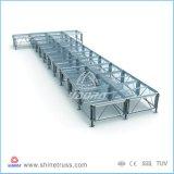 4ftx4ft het Lichte Stadium van het Aluminium met 18mm Acryl