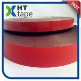 El doble rojo del color del negro del trazador de líneas echó a un lado cinta de la espuma