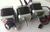 Stepper van de Printer NEMA 17 van Reprap 3D Motor, NEMA 17 3D het Stappen van de Printer Motoren, die met de Verschillende Schakelaars van het Type worden geplooid