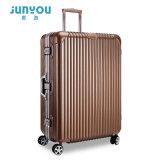 中国製ABS+PCの物質的なスーツケースの荷物
