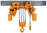 3 fase, het Lage Hangende Hijstoestel van 10 Ton met G80 Ketting Fec