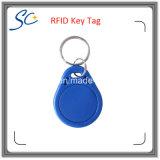 Kundenspezifische Schlüsselmarke des Firmenzeichen-Drucken-13.56MHz HF-RFID