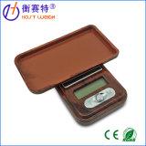 маштаб карманн баланса ювелирных изделий 100g/0.01g миниый цифров деревянный