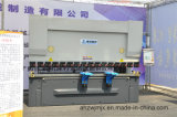 We67k 100t / 3200 Electro-hidráulico servo dual síncrono CNC Prensa plegadora