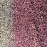 Cuero suave de la PU del brillo para los zapatos (E6072)