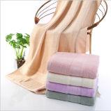 100% Bambus-Garn gefärbtes Hauptgesichts-Handbad-Tuch mit preiswertem Preis