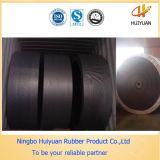 Correia transportadora resistente de borracha da abrasão de nylon