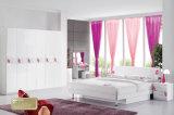 Plus défunt jeu de chambre à coucher moderne grand de meubles de chambre à coucher de bâtis