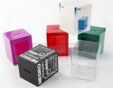 Plástico del banco de moneda / caja de moneda / caja de ahorros