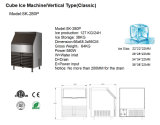 Heet verkoop het Blok die van het Ijs Machine voor Commercieel Gebruik maken