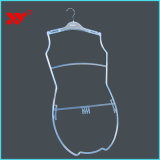 Perchas de encargo del traje de baño de las señoras de la carrocería de la marca de fábrica del traje de baño del departamento del claro superior de la visualización