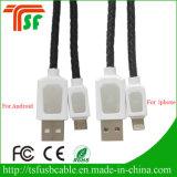 Samsung를 위한 새로운 가죽 USB 데이터 비용을 부과 케이블
