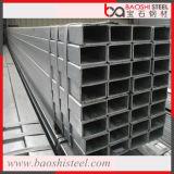Tubos de acero cuadrado galvanizado / sección hueca del tubo