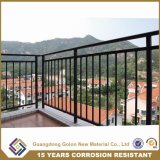 Лечение или прямой гальванизированный стальной Railing балкона