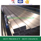 Tubo de acero inoxidable ASTM304 rectangular