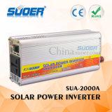 Invertitore automatico 12V di potere dell'invertitore 2000W di energia solare di Suoer a 220V per uso domestico con il prezzo di fabbrica (SUA-2000A)