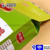 Module en plastique de nourriture de fruit sec latéral de gousset personnalisé par taille