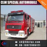 4X2 HOWO 7000L 10000L Feuer-Rettungsfahrzeug-Löschfahrzeug-Fahrzeug