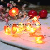 Pomme Forme Batterie Opérée 3m 4.5V 30 LED Silver Wire Mini Fairy Christmas Light