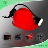 Headlamp горнорабочей GS5-B 5.6ah Semi-Связыванный 8000lux с светами сигнала