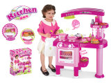 De jonge geitjes beweren Stuk speelgoed van de Kinderen van het Stuk speelgoed van de Keuken van het Spel het Plastic (H0535164)