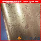 높은 광택 있는 고체 PVC 장 내각 막 진공 압박 PVC 필름 가구에 의하여 박판으로 만들어지는 PVC 장