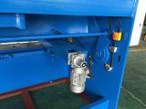 Máquina hidráulica da tesoura do CNC (QC12K-16X4000) com padrão europeu do controlador do CNC