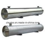 Cárter del filtro de agua del acero inoxidable para la planta del RO/la cubierta de la membrana