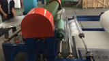 인도에 있는 Jc-EPE-FM1750 EPE 거품 장 또는 필름 코팅 플라스틱 패킹 박판으로 만드는 기계 또는 타이란드 또는 미국