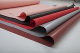 煙の&Fireの障壁の布のための新製品PUの上塗を施してあるガラス繊維