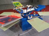 Печатная машина экрана цветов Spm 4 ручная