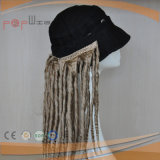Wavy Long Synthetic Mulheres Ponytails Cap