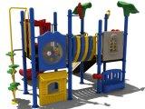 de 114mm Gegalvaniseerde Post Kleurrijke Apparatuur van de Speelplaats van Kinderen Openlucht