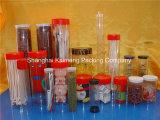 Cilindros plásticos desobstruídos das câmaras de ar dos doces do PVC para o pacote