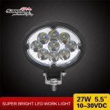 luz brilhante super Offroad oval do trabalho do diodo emissor de luz 27watt 5.5inch