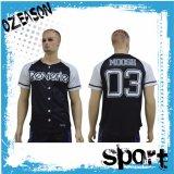 Baseball normale adatto Jersey (B001) di Dri degli uomini su ordinazione