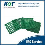 El panel Wear-Resistant del tamiz vibratorio del poliuretano de la minería