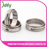 남자 스테인리스 남자 결혼 반지를 위한 반지
