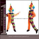 Costume dei bambini del capretto del partito del vestito del pagliaccio di Halloween di carnevale (TCQ0056)