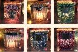 Duftende Kristallkerze mit Dekoration-Schwingen-Marke