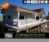 Casa de campo Prefab modular durável moderna de Wellcamp