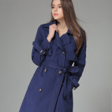 OEM 2015 de alta qualidade europeia Western Style Overcoat