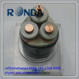Einkerniges 95 Sqmm 3.6kv kupfernes elektrisches kabel