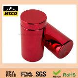 Бутылка/крышка упаковки красных спортов Metalization пластичные