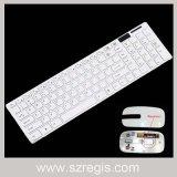 La décomposition de type modèle le clavier et souris d'ordinateur de l'ordinateur portable sans fil 2.4G